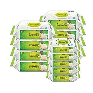 삼무 오리지널 캡형 물티슈 74매 x 8팩 + 삼무 오리지널 휴대용 20매 x 5팩