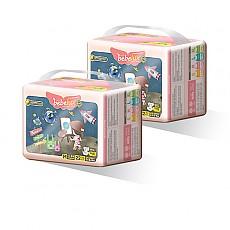 베베룩스 일라스틱핏 밴드형 중형 기저귀 22매 x 2팩